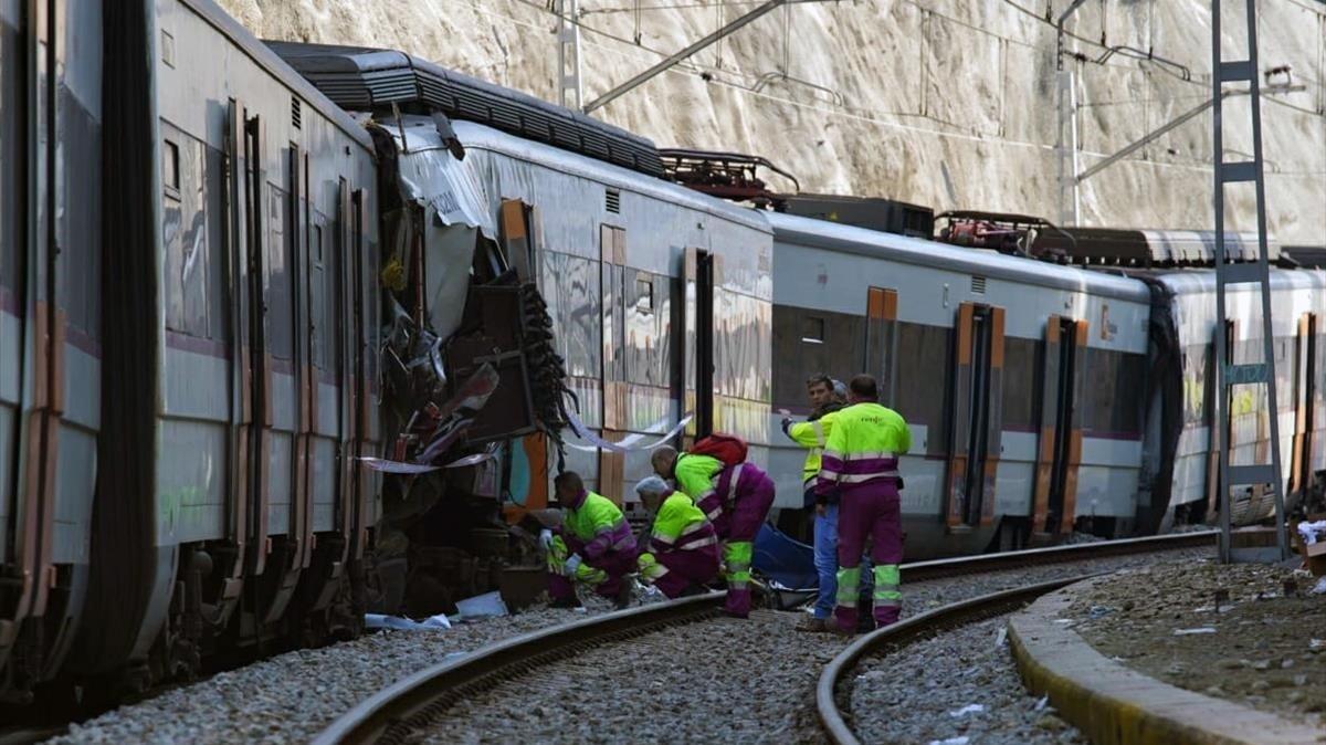 Calvet demana que la R-4 no funcioni en el tram del sinistre fins que millori la infraestructura