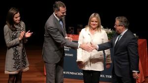 """El Rey Felipe VI, a las víctimas del terrorismo: """"Vuestro dolor es el de toda España"""""""