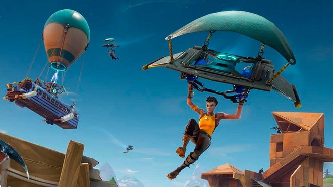 Fortnite salió al mercado en julio de 2017.