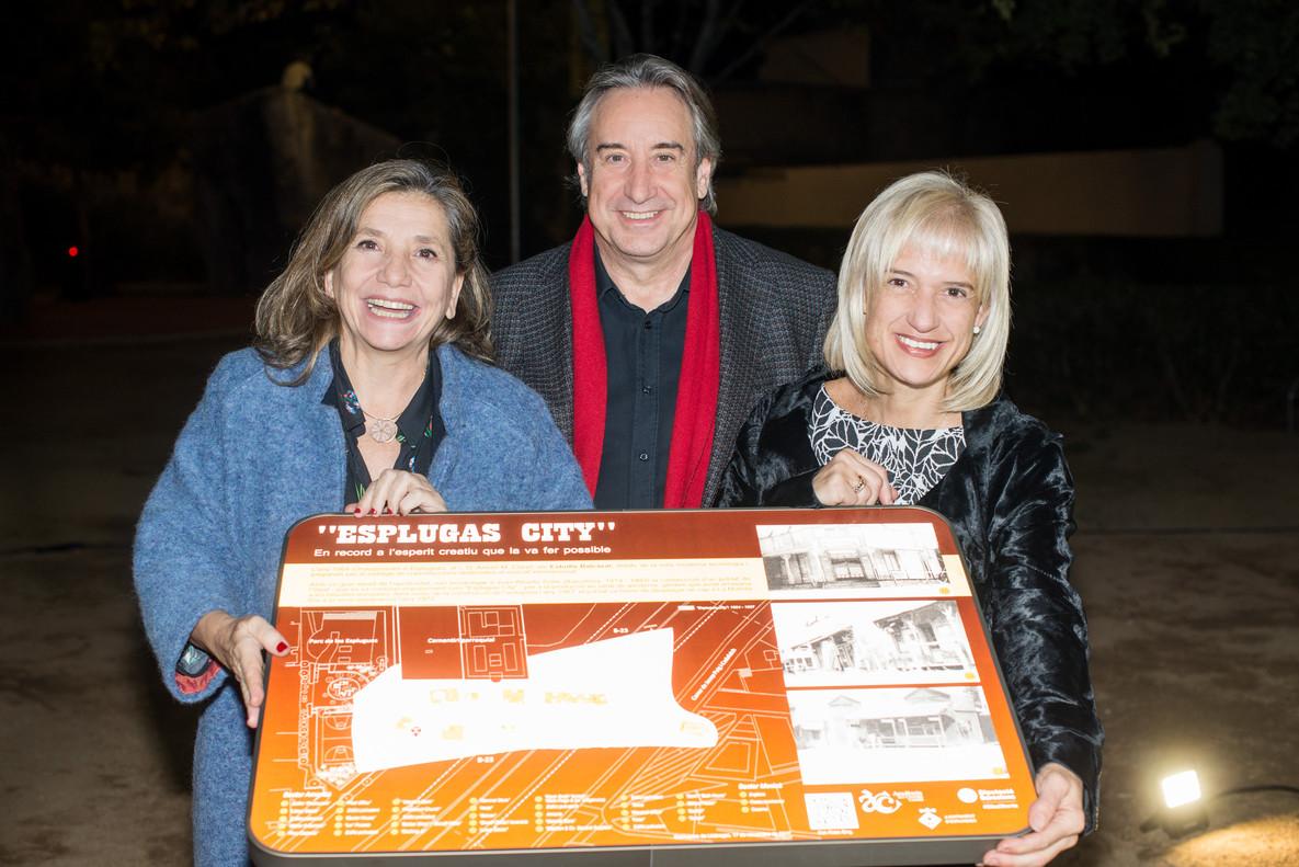 L'Acadèmia del Cinema Català ret homenatge a Esplugas City