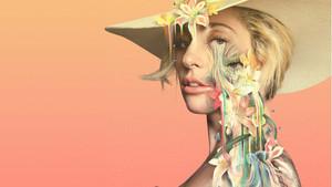Detalle del cartel de Gaga: Five Foot Two, producción documental de la plataforma Netflix.