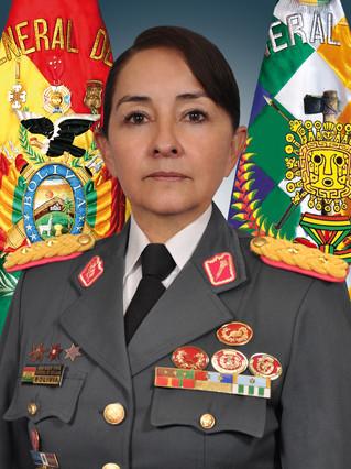 La generala Reque Terán.