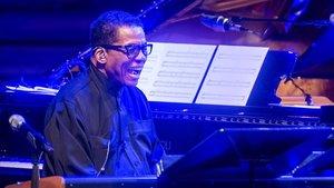 Herbie Hancock en el Palau de la Música, el sábado.