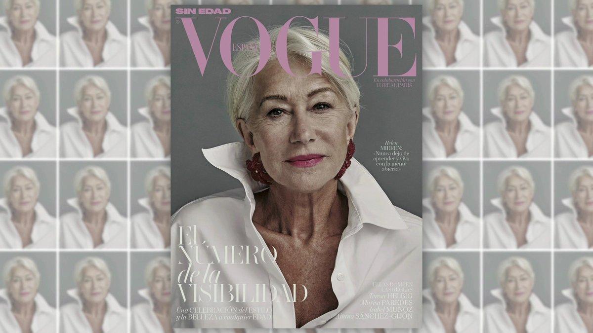 El suplemento de la 'visibilidad' está protagonizado pormujeres de más de 50, féminas que han vivido unaauténtica revolución, como Helen Mirren,Jane Fonda, Aitana Sanchez GijónyTeresa Helbig, queaparecen en laspáginasinteriores de la publicación.