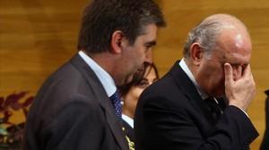 Ignacio Cosió y Jorge Fernández Díaz, en 2012.