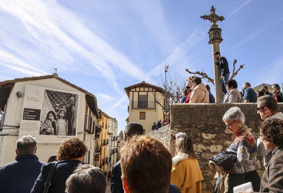 Inauguración. Fue multitudinaria y contó con los autores de las fotografías.