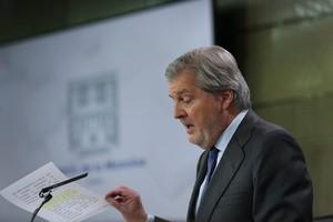 Íñigo Méndez de Vigo, este viernes tras el Consejo de Ministros.