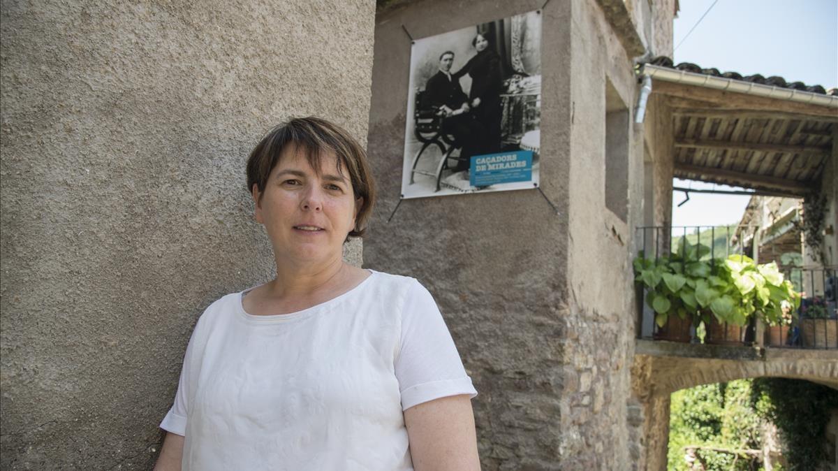Eva Perisé, en La Pobleta de Bellveí.