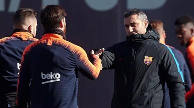 Valverde recela del Getafe