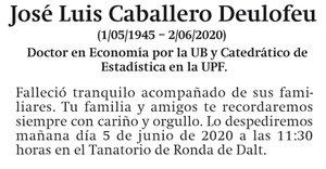 José Luis Caballero Deulofeu