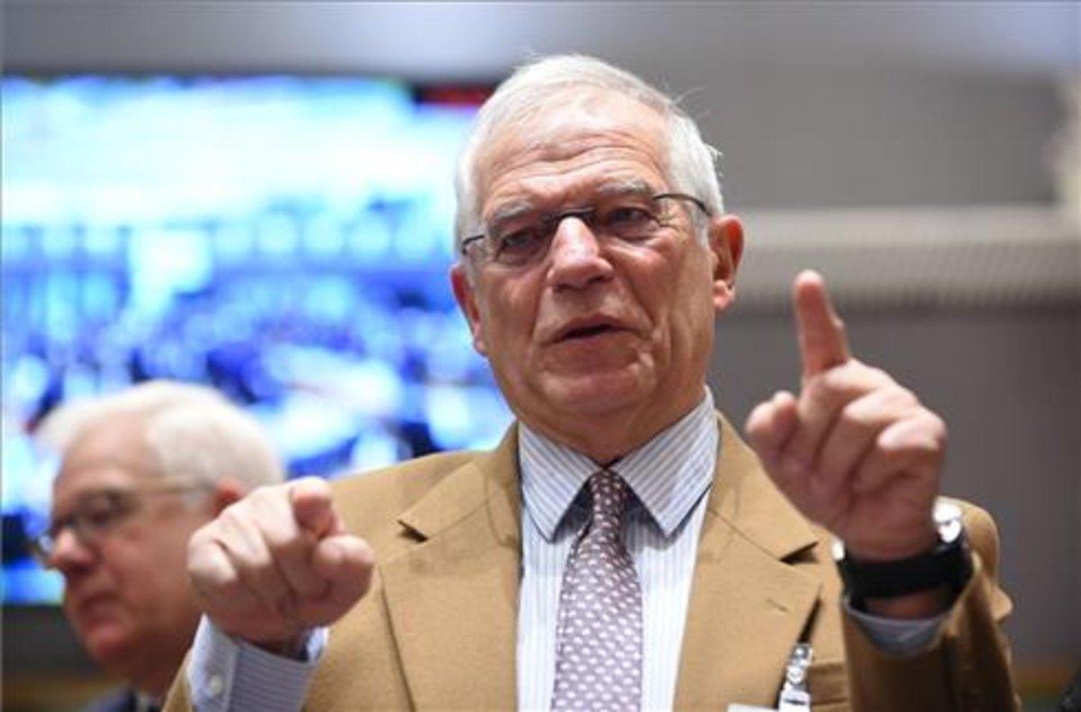 Josep Borrell, en una imagen de archivo, en Bruselas.
