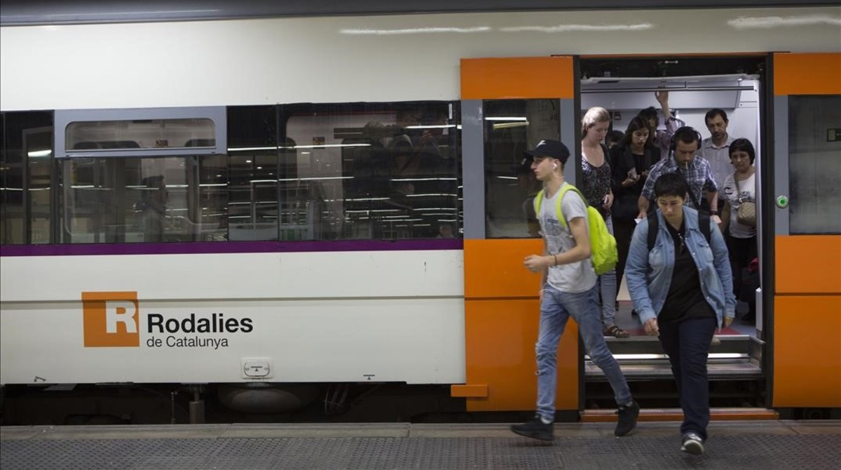 Tren de Rodalies Renfe.