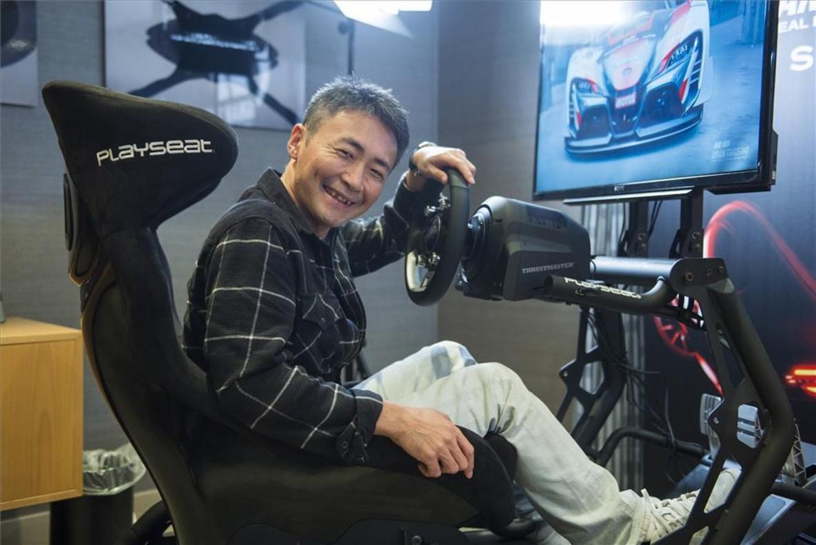 Kazunori Yamauchi, creador de la saga Gran Turismo, en Barcelona.