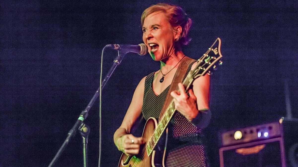 Kristin Hersh, en el Minifestival de Música Independent.