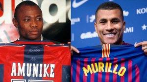 D'Amunike a Murillo, la història dels fitxatges d'hivern del Barça