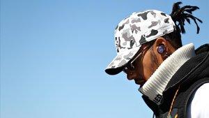 Lewis Hamilton, en Texas, este fin de semana.