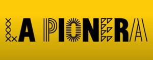 Logotipo de la iniciativa La Pionera.