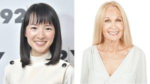 Marie Kondo (izquierda) y la 'Organizadora de Beverly Hills', Linda Koopersmith.