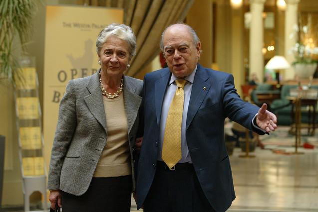 El 'expresident' Jordi Pujol y su esposa, Marta Ferrusola, enuna foto de archivo.