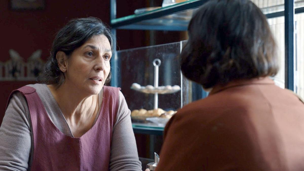Maxi Iglesias y Elvira Mínguez hablan de 'Desaparecidos. La serie'.