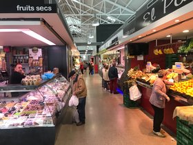 Mercado de Santa Coloma de Gramenet.