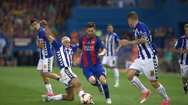 Las claves tácticas del Barça-Alavés: Leo, cátedra infinita