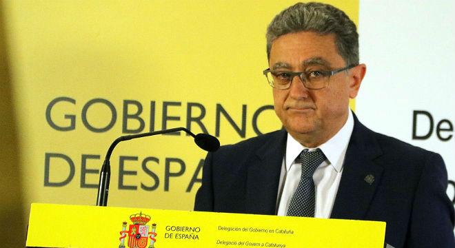 El objetivo no son las personas, sino el material electoral, ha dicho el delegado del Gobierno en Catalunya