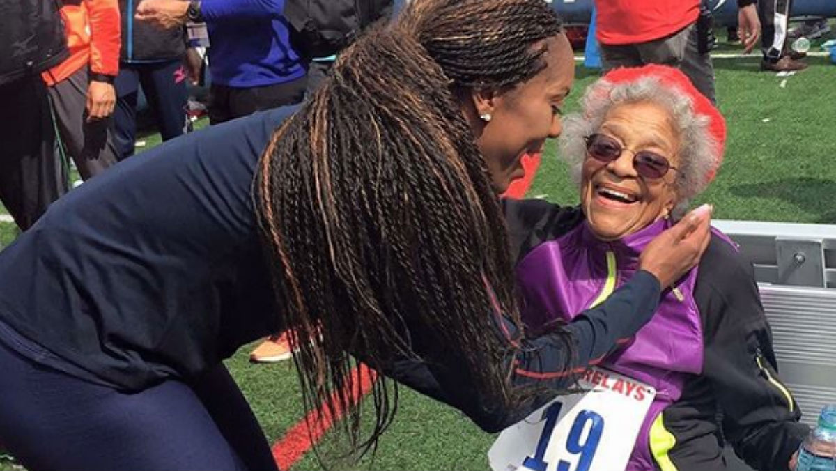 Esta mujer incansable asegura que seguirá corriendo mientras pueda, porque el ejercicio es su mejor medicina.