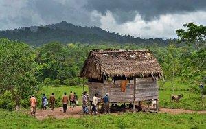 Una comunidad indígena de Nicaragua.