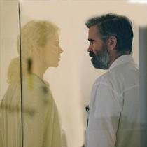 Nicole Kidman y Colin Farrell, en un fotograma de El sacrificio de un ciervo sagrado