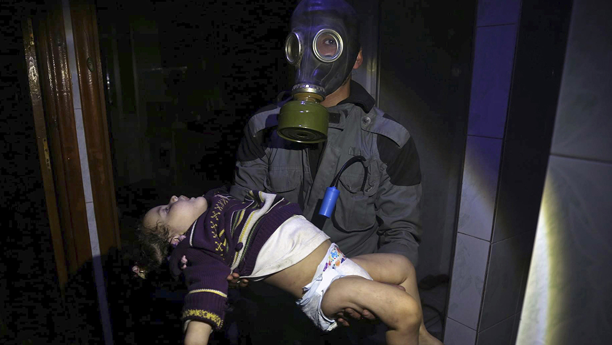 Un nuevo ataque químico sacude Siria: Muchísima gente se ahogaba