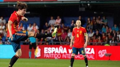 Un fallo de De Gea evita el triunfo de España ante Suiza (1-1)