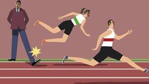 Un tiro a la igualdad de la mujer deportista