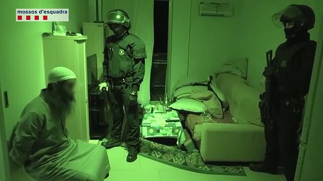 La operación antiyihadista de los Mossos.