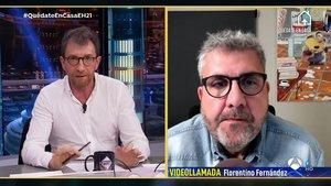 Florentino Fernández rescata a 'El hormiguero' unes imatges del passat de Pablo Motos: «¡Treu això!»