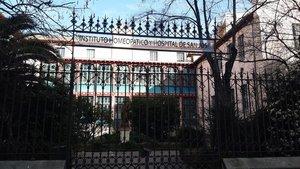 El palacete que alberga el Instituto Homeopático.