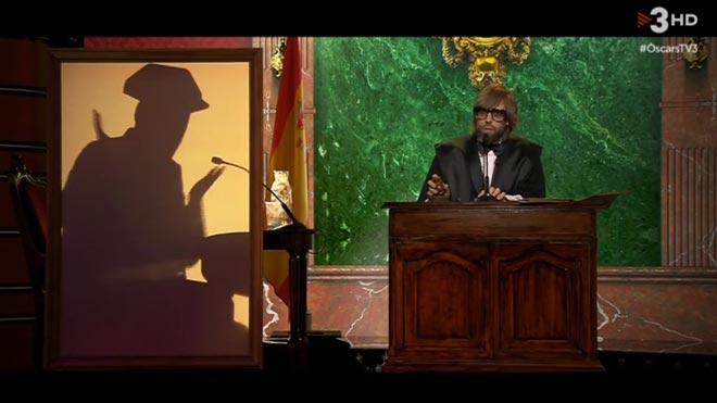 Parodia del juicio en La nit dels Òscars.