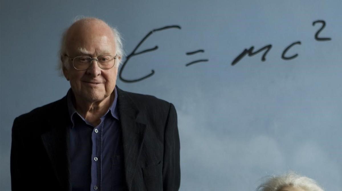 Peter Higgs, en Barcelona, en noviembre del 2012.