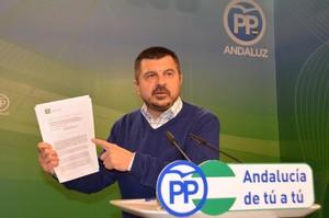Toni Martín Iglesias,vicesecretario de Coordinación Política delPPandaluz(Facebook).