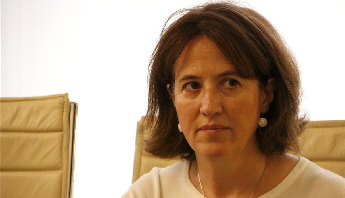 La presidenta de la ANC, Elisenda Paluzie, en una imagen de archivo.