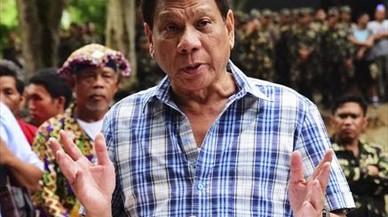 Duterte escenifica el giro de Filipinas hacia China