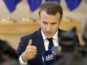El presidente de Francia, EmmanuelMacron.