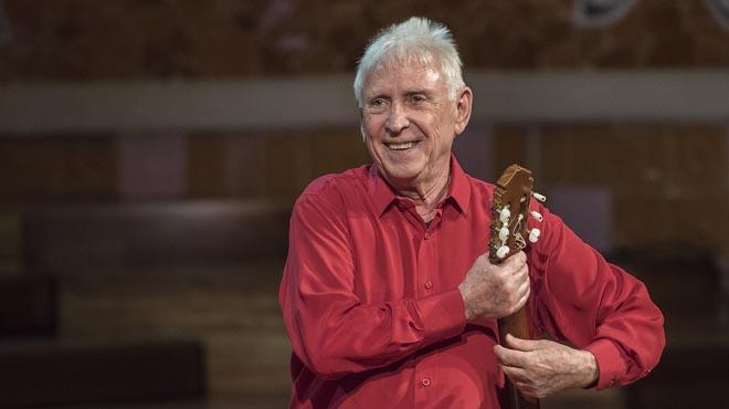 El cantautor de Xàtiva es va acomiadar del seu públic, ahir al Palau.