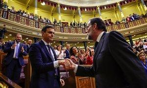 Rajoy pierde la moción de censura, el 1 de junio del 2018.
