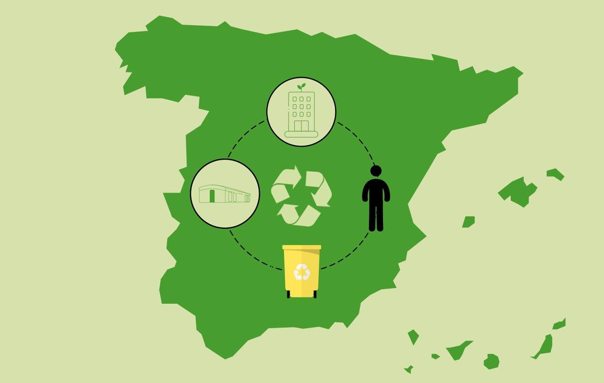 El ciclo del reciclaje, una segunda vida para los residuos