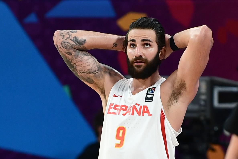 Ricky Rubio, durante la fase final del Eurobasket en Estambul