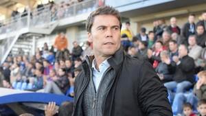 Rubi, en un partido del Huesca de esta temporada.