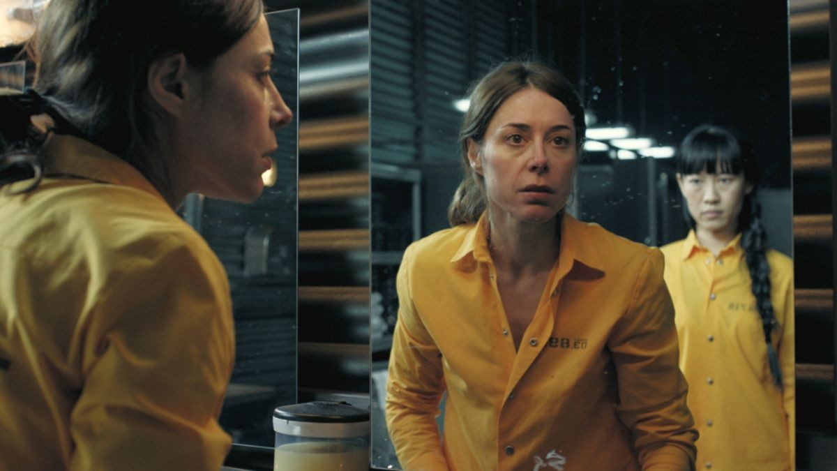 Ruth Díaz, en una escena de la serie de Fox 'Vis a vis'.