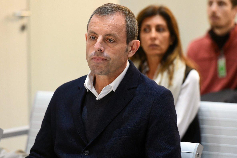 Sandro Rosell, durante el juicio.