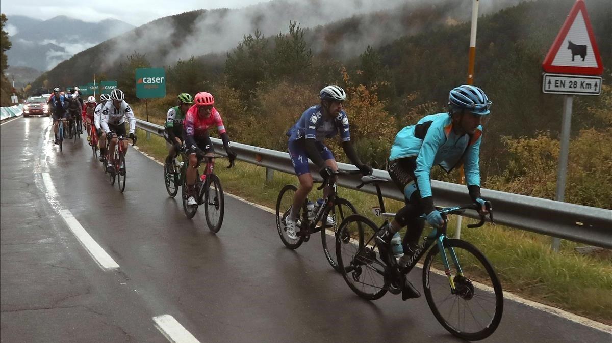 La Vuelta entra en una setmana decisiva amb la gran cita de l'Angliru